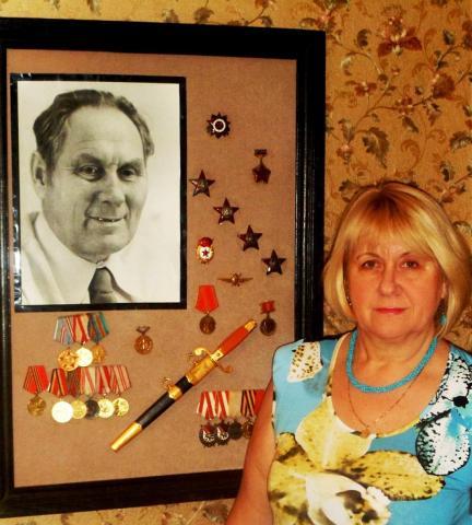 Dcéra zostreleného pilota Galina Kleinenberg