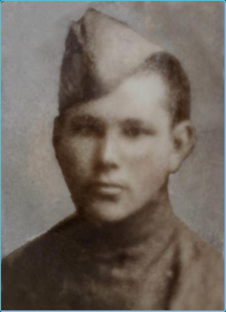 Modest Jevgenievič Kovbasiuk - veliteľ guľometnej čaty