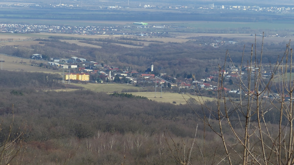 Dargov z cesty nad Vladárkou